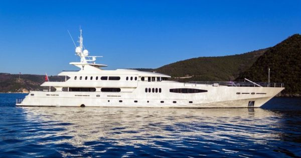 Majestic Wonder, Megayacht Majestic Wonder ( Ex Egeria ) has been taken over by her new owner and she is undergoing serious refitting and interior decorations in Istanbul